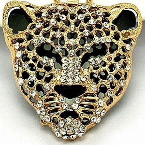 Jewelry - NEW Exquisite Cheetah Leopard Dimentional Necklace